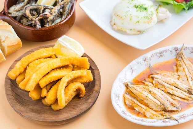 Varietà di pesce tipico spagnolo