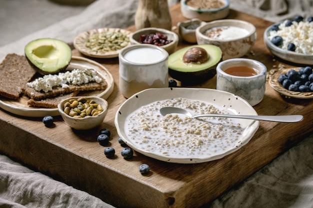 Varietà salutare per la colazione