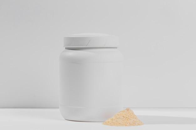 Vasetto per integratori in polvere da palestra