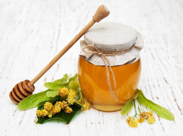 Vaso con miele