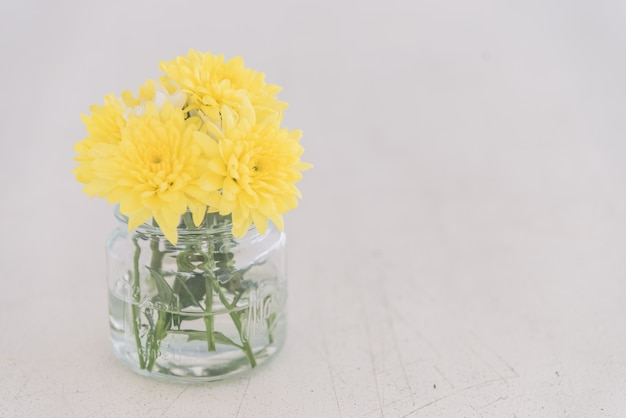 Vaso di fiori - filtro vintage