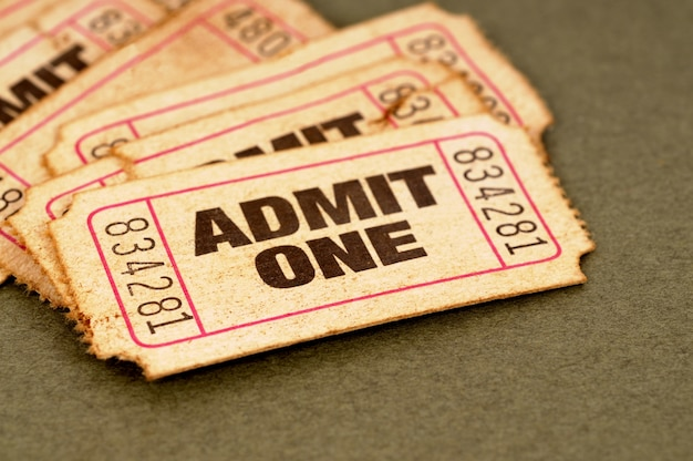 Vecchi biglietti