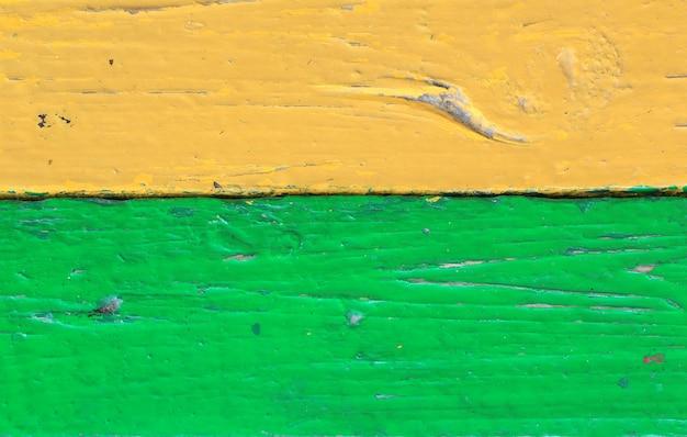 Vecchia annata dipinta di legno retro