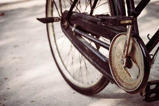 Vecchia bicicletta d'epoca