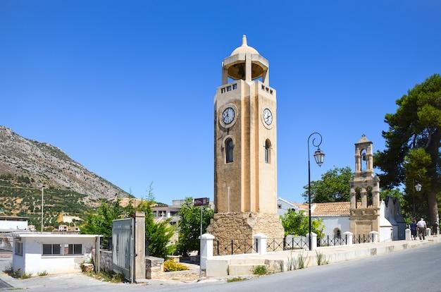 Vecchia cappella sull'isola di creta, in grecia.