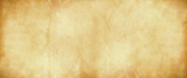Vecchia carta pergamena. trama di banner