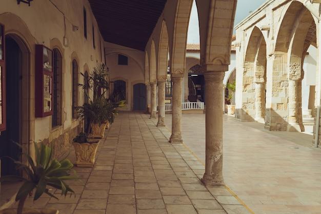 Vecchia città di cipro di larnaka