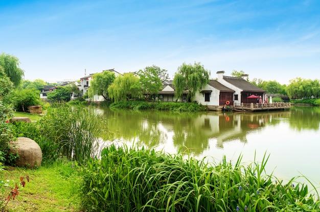 Vecchia città scenica storica wuzhen, cina