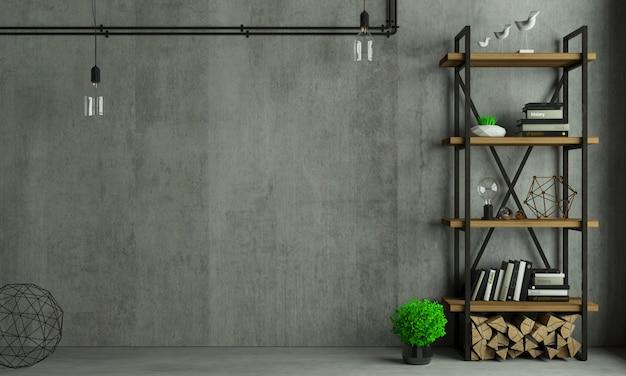 Vecchia parete del fondo interno del sottotetto