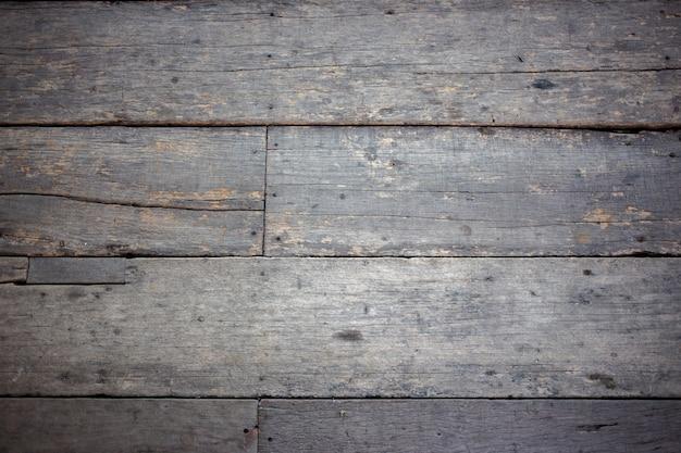 Vecchia parete di fondo di legno dell'annata