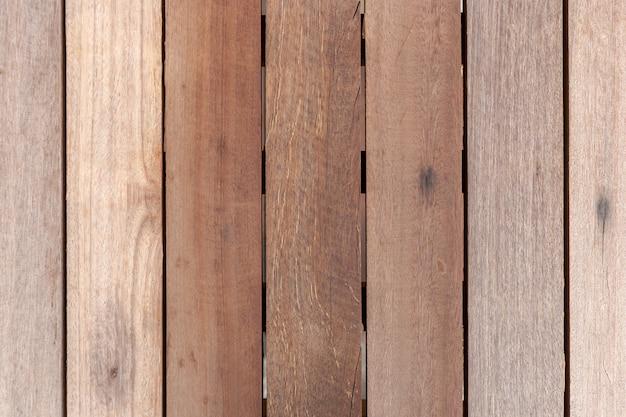 Vecchia parete di legno di struttura e pavimento di legno naturale d'annata