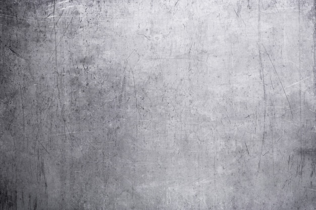 Vecchia piastra metallica, la trama del primo piano d'acciaio