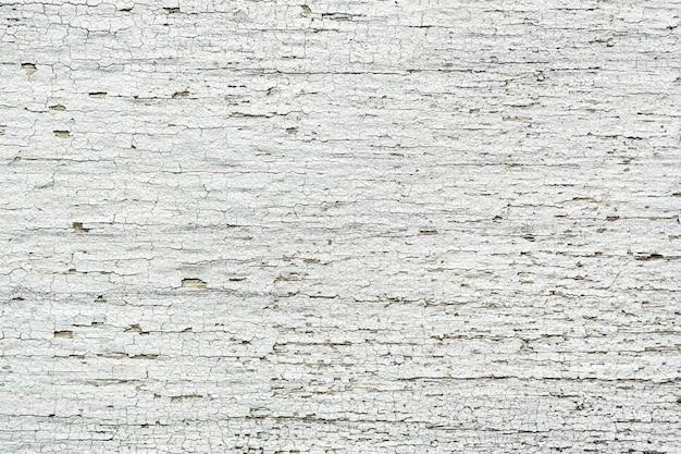 Vecchia plancia di legno bianca