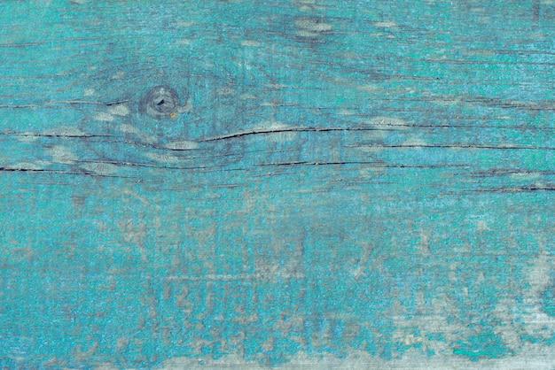Vecchia priorità bassa blu winded di legno misera.