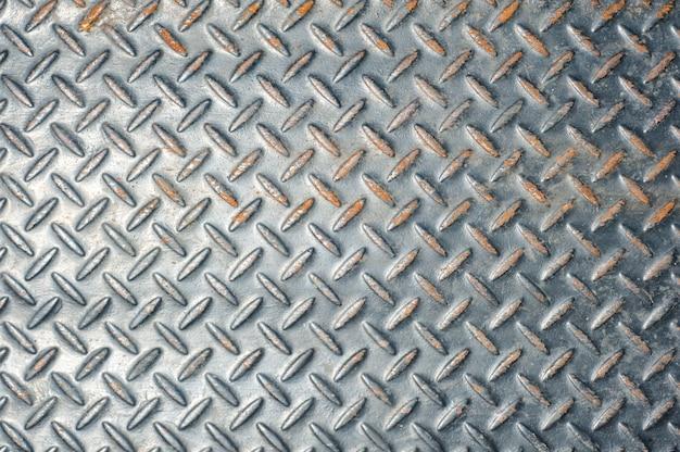 Vecchia priorità bassa della parete d'acciaio