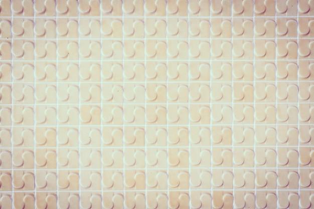 Vecchia priorità bassa di strutture della parete delle mattonelle
