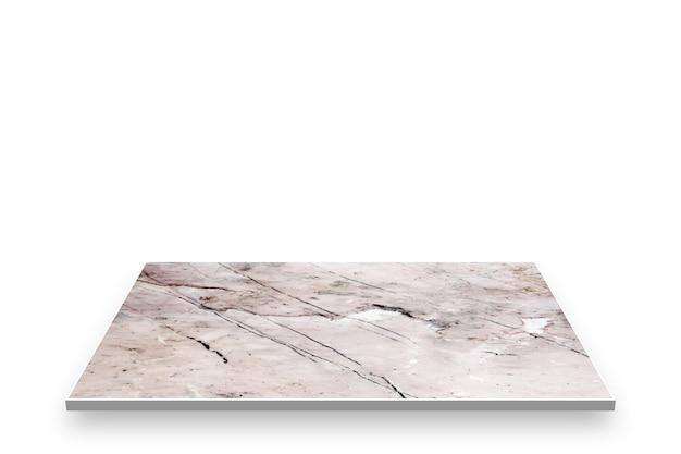 Vecchia prospettiva di marmo del modello isolata su fondo bianco