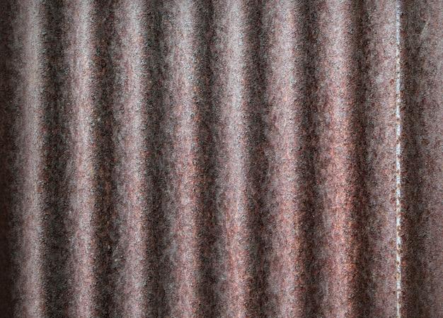 Vecchia struttura arrugginita della superficie dello zinco