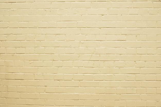 Vecchia struttura bianca del muro di mattoni