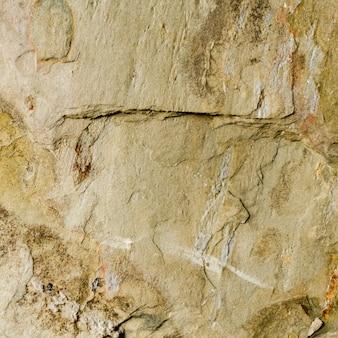 Vecchia struttura del fondo delle rocce dure