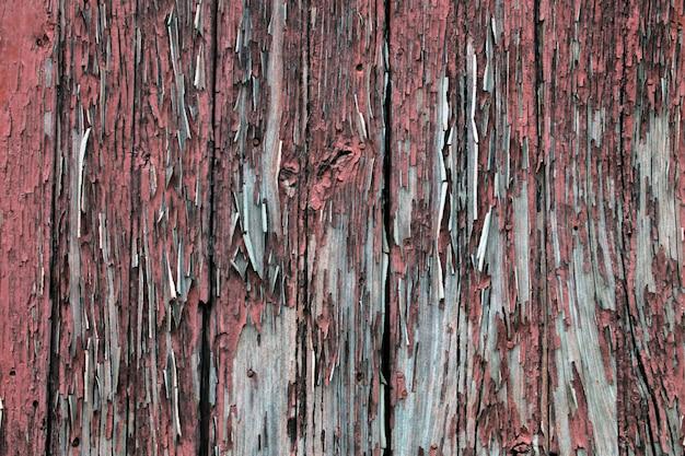 Vecchia struttura della porta in legno