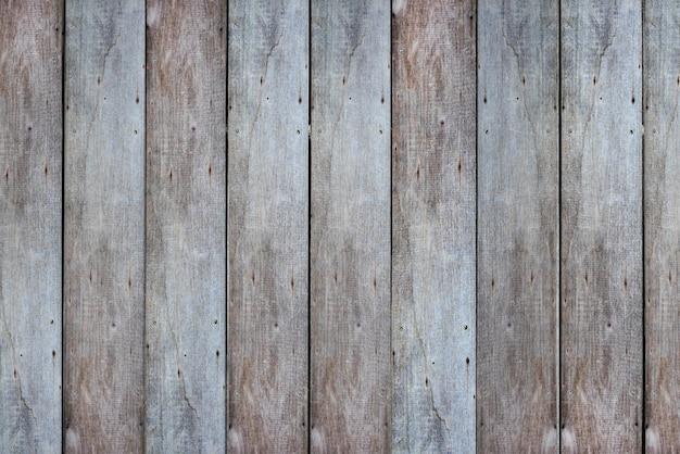 Vecchia struttura di assi di legno della parete