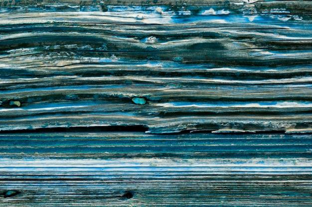 Vecchia struttura di legno del grunge della porta blu