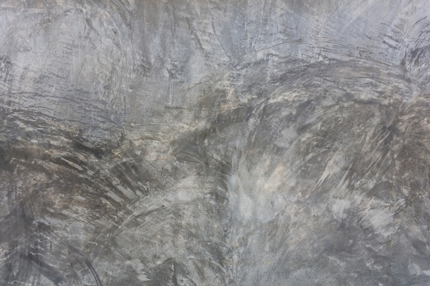 Vecchia struttura grigia del muro di cemento.