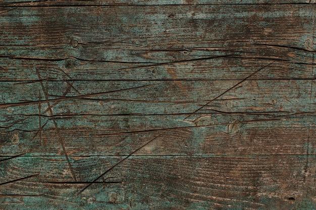 Vecchia superficie di legno scuro