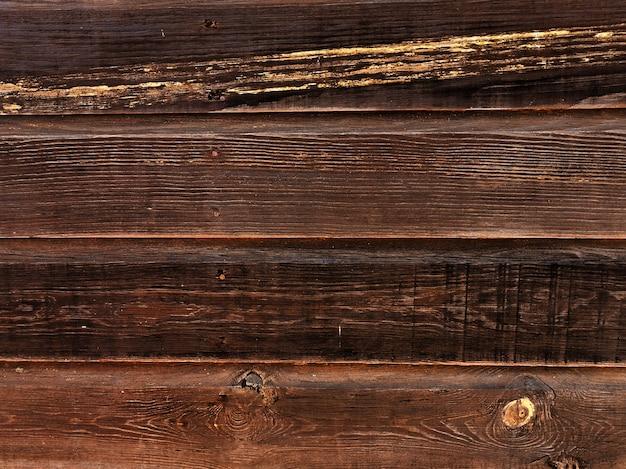Vecchia tavola di legno planked dell'annata
