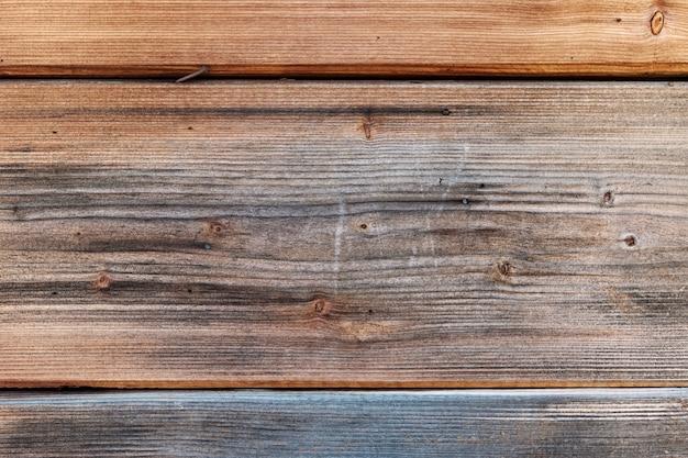 Vecchie tavole di legno scuro per