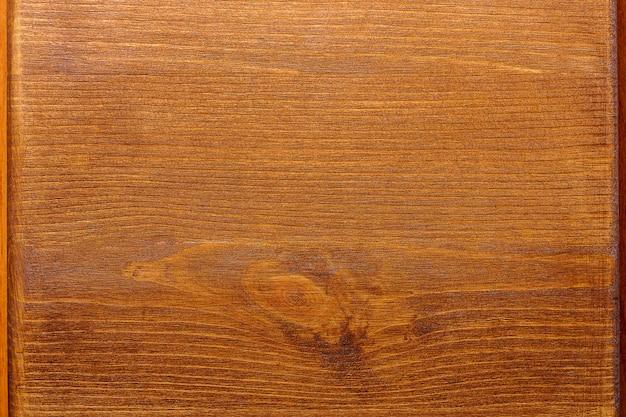 Vecchio bordo strutturato di legno marrone per fondo.