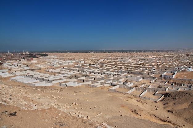 Vecchio cimitero di amarna, in egitto
