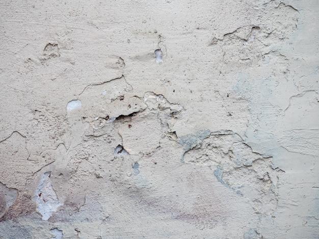Vecchio e bellissimo muro di cemento