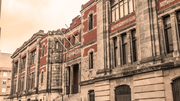 Vecchio edificio della scuola industriale