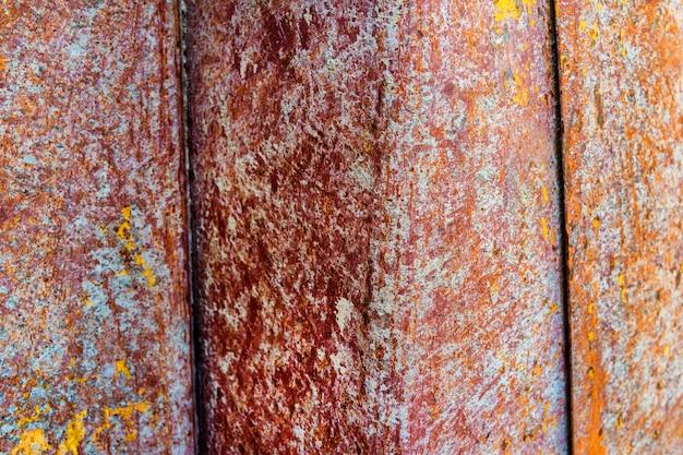 Vecchio foglio di metallo arrugginito d'acciaio, priorità bassa strutturata astratta
