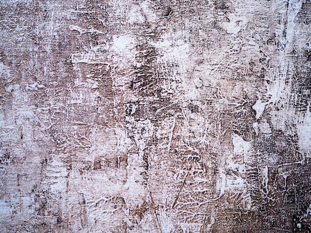 Vecchio fondo bianco dell'estratto di struttura della parete.