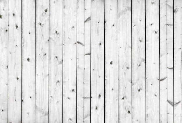 Vecchio fondo di legno del pavimento bianco
