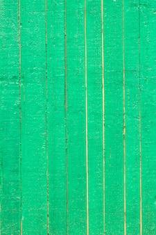 Vecchio fondo di legno di legno di struttura del bordo verde.