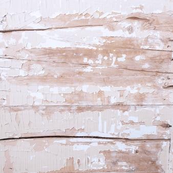 Vecchio fondo di legno dipinto di struttura