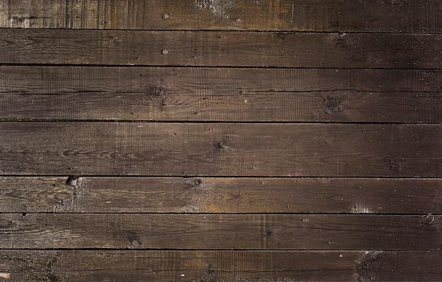 Vecchio fondo di legno marrone d'annata