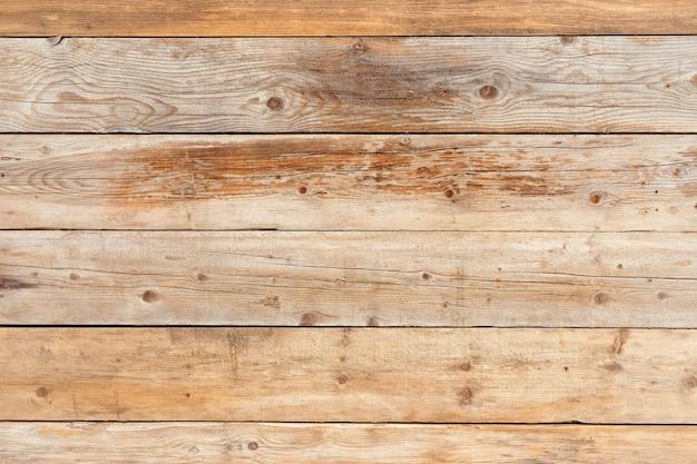 Vecchio fondo di legno naturale sbiadito del pino giallo