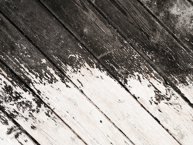 Vecchio fondo di legno stagionato della plancia