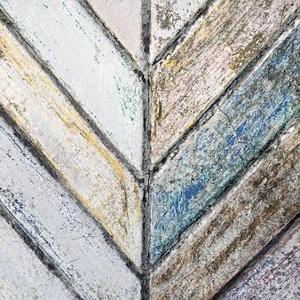 Vecchio fondo incrinato di struttura del muro di cemento della pittura
