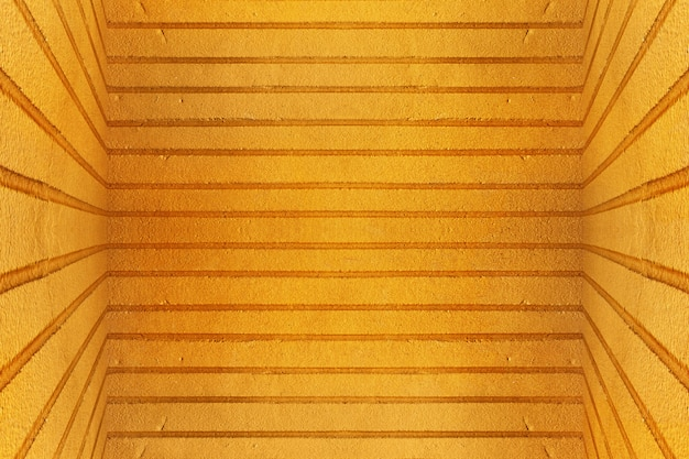 Vecchio fondo sporco giallo di struttura del muro di cemento
