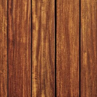 Vecchio formato quadrato del fondo della parete di legno del tek