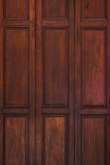 Vecchio legno antico marrone scuro