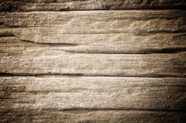 Vecchio marrone di legno della barriera della parete