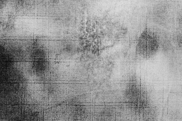 Vecchio materiale in tessuto grigio con copia spazio
