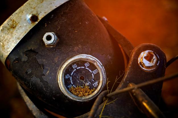 Vecchio misuratore di velocità per bici, misuratore di velocità vintage